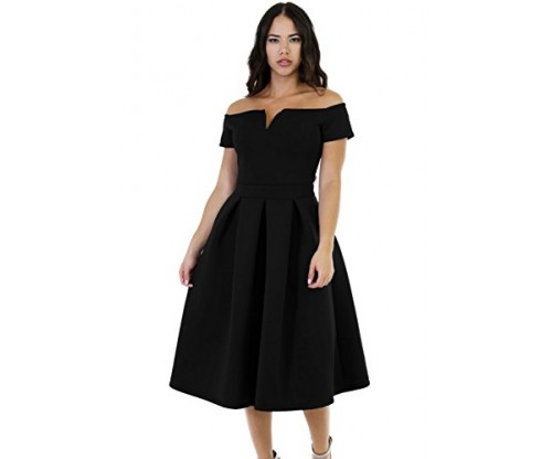 Lalagen Women's Vintage 1950s Party Dress