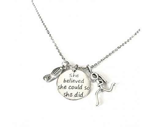 Lolly Llama Running Necklace