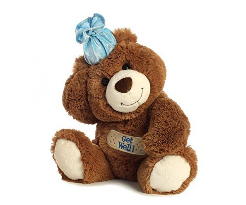 Get Well Plush Bear