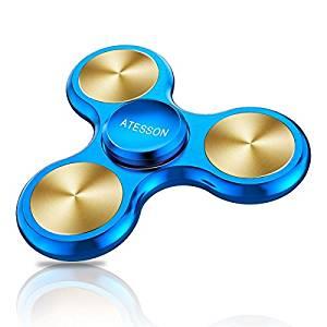 ATESSON Fidget Spinner Toy 4-10 Min Spins
