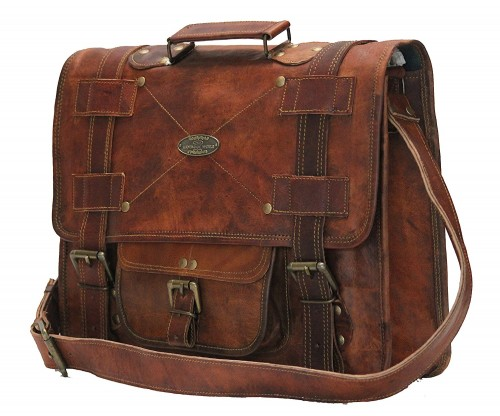 Handmade Over The Shoulder Laptop Bag
