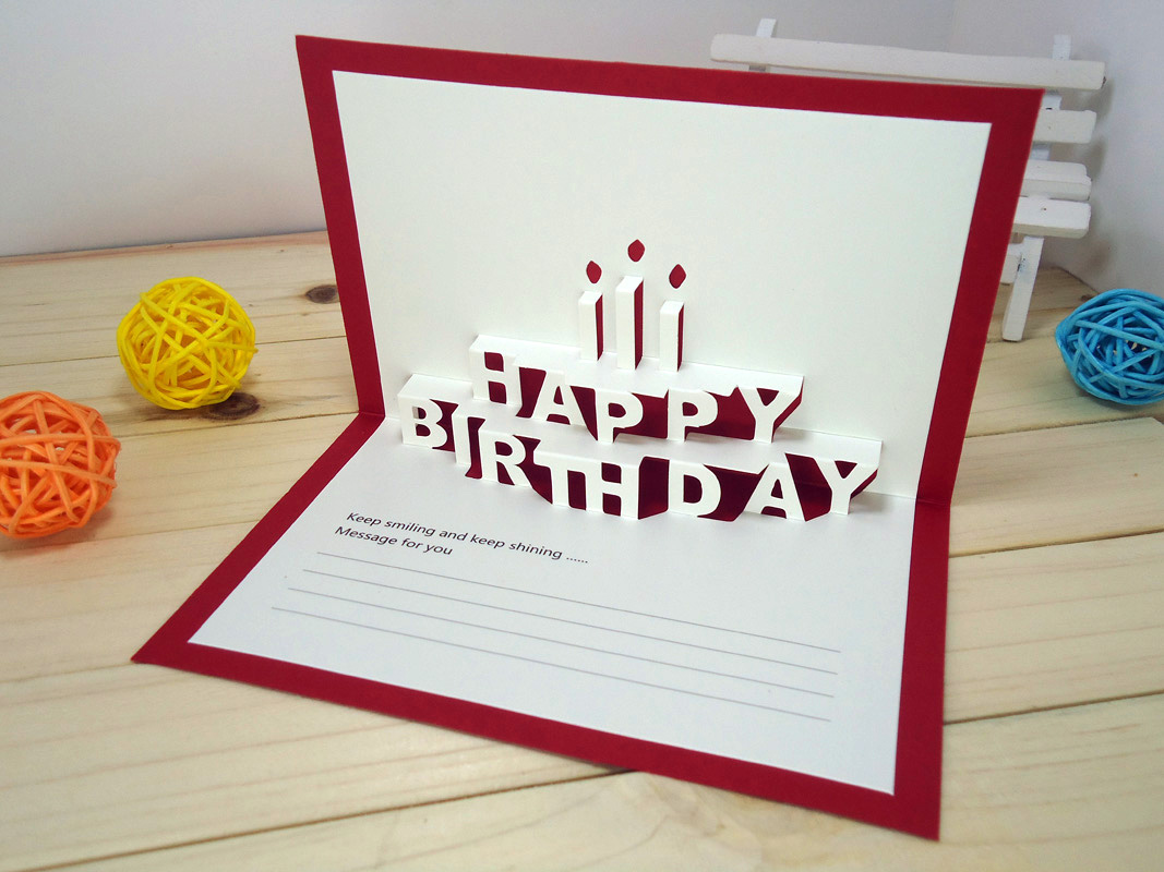 How To Make A Birthday Card Supplies Tutorial