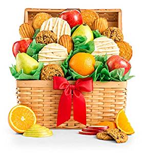 GiftTree Fresh Fruit and Chocolates Gift Basket