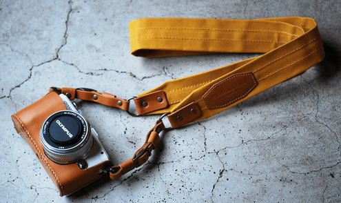Handcrafted Camera Straps