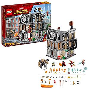 LEGO Marvel Super Heroes Avengers- Infinity War Sanctum Sanctorum Showdown 76108 Building Kit