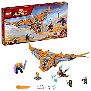 LEGO Marvel Super Heroes Avengers: Infinity War Thanos: Ultimate Battle 76107 Building Kit