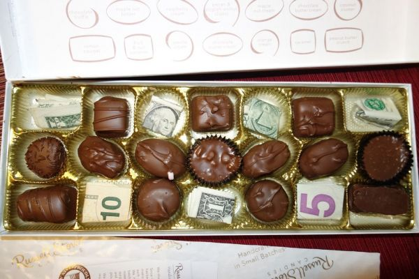 Money Chocolate Box