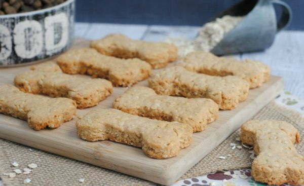 Peanut Butter Oat Cookies with Apples