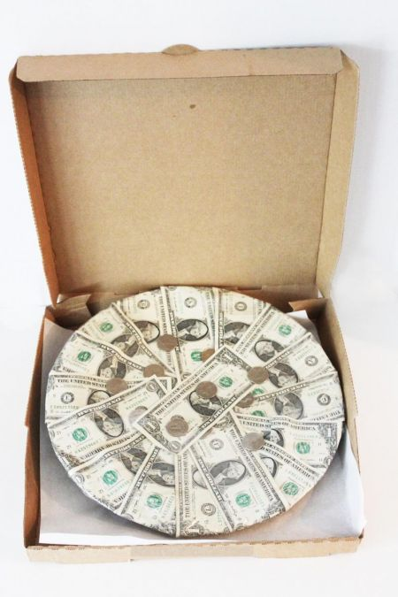 Pizza Money Box