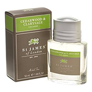 St James of London Cedarwood and Clary Sage Cologne