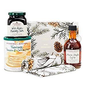 Stonewall Kitchen Pine Breakfast Gift Set
