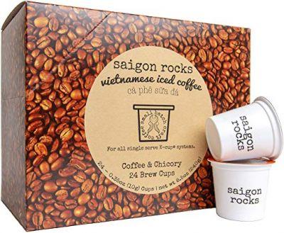 Vietnamese Coffee Kcup SAIGON ROCKS for Vietnamese Iced Cof