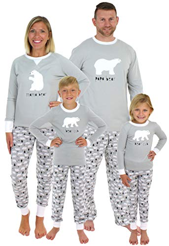 Sleepyheads Holiday Family Matching Polar Bear Pajamas