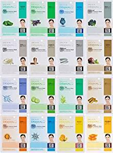 Dermal Korea Full Facial Mask Sheet Set
