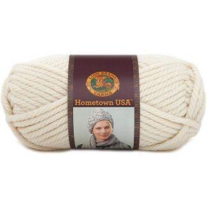 Lion Brand Hometown USA Yarn (098) Houston Cream, Houston Cream