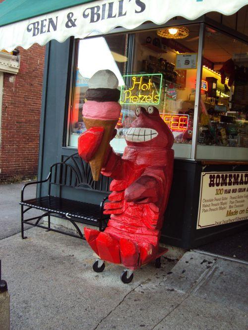 Lobster – Ben & Bill's Chocolate Emporium, Bar Harbor, Maine