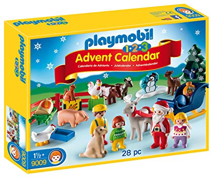 Playmobil 1.2.3 Advent Calendar (Christmas on the Farm)