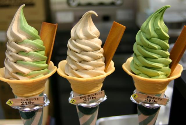 Raw Horse Flesh – Ice Cream City, Namja Town, Tokyo