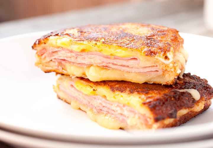 Cheese and Turkey French Toast Grilled Cheese