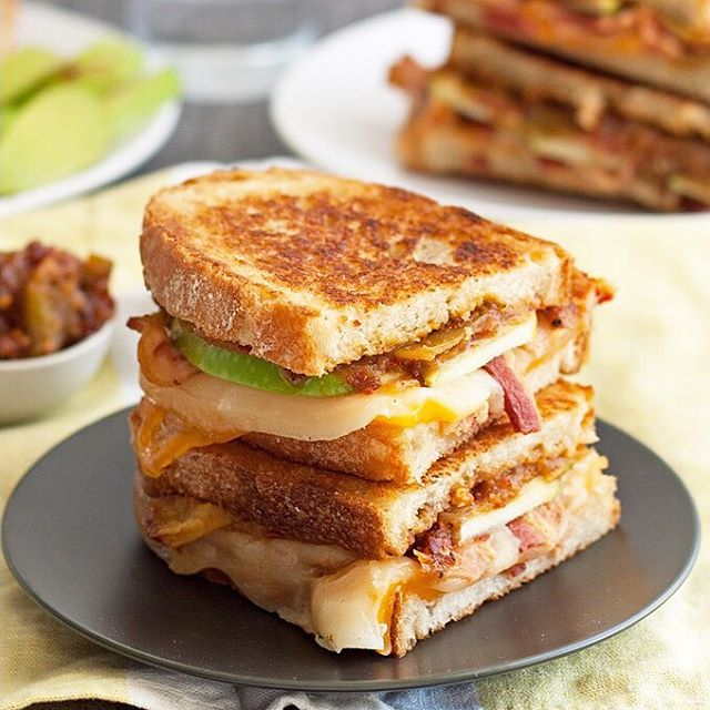 Provolone and Cheddar Grilled Cheese