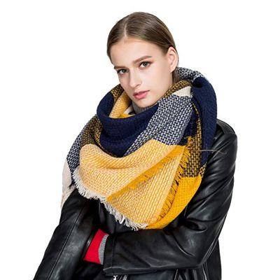 Scarfs For Women, HITOP Soft Classic Plaid Large Tartan Blanket Scarf Wrap