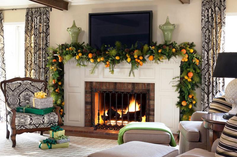 fun garland decoration