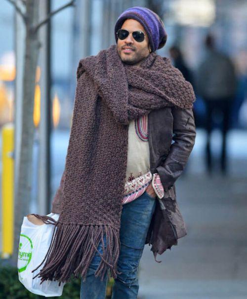 scarf wearing