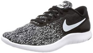 NIKE Women's Flex Contact Black/White Running Shoe