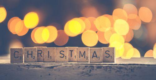 Scrabble Christmas