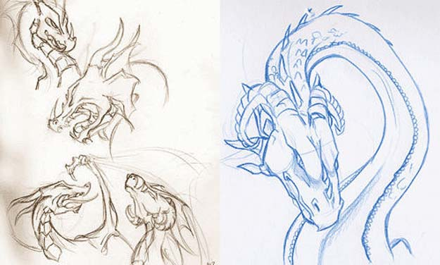 How to Draw Dragons: Step-by-Step Instructions from Tooth to Nail