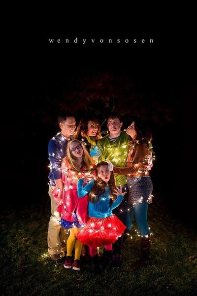 the human christmas tree