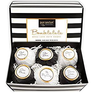 Bath Bombs Gift Set - Luxury Bath Fizzies
