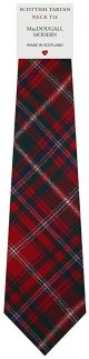 Mens All Wool Tie Woven Scotland - MacDougall Modern Tartan