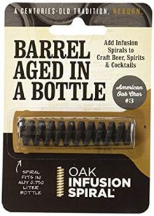 Barrel Aged in a Bottle Oak Infusion Spiral