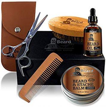 Beard Balm - Beard Trimmer - Beard Oil - Beard Growth - Beard Brush - Beard Comb - Beard Kit - Mens Grooming Kit - Beard Conditioner - Beard Growth Oil - Beard Grooming