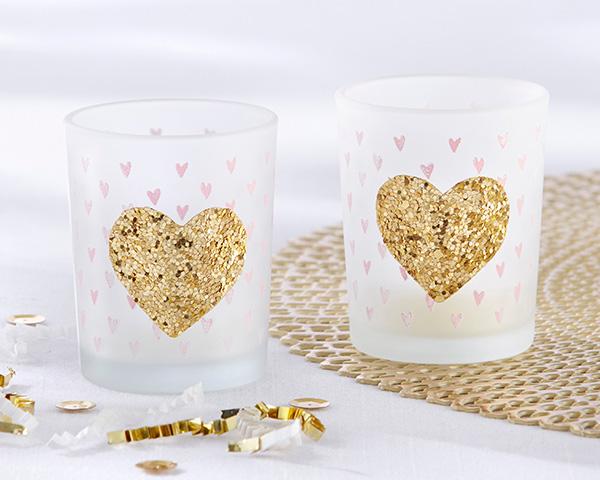 Glitter Votive Candles