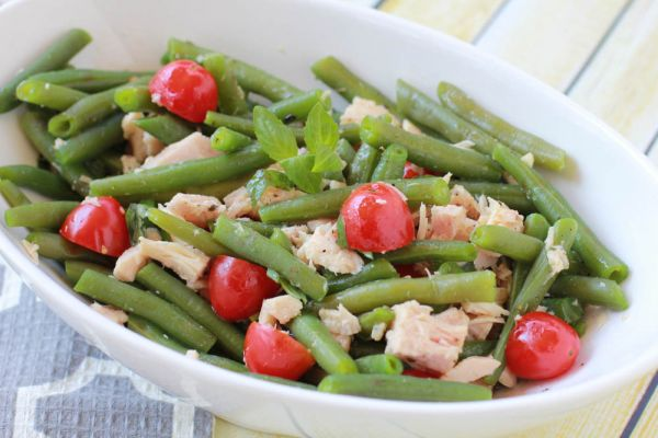 Green Bean and Tuna Salad