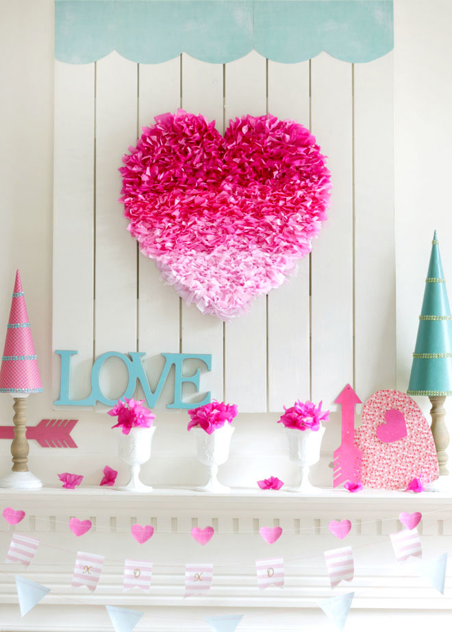 Ombre Heart with Arrow