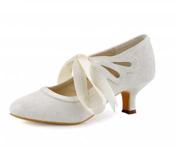 ElegantPark HC1521 Mary Jane Pumps