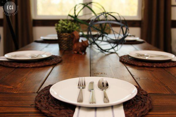 http://eastcoastcreativeblog.com/2014/01/ikea-hack-build-a-farmhouse-table-the-easy-way.html