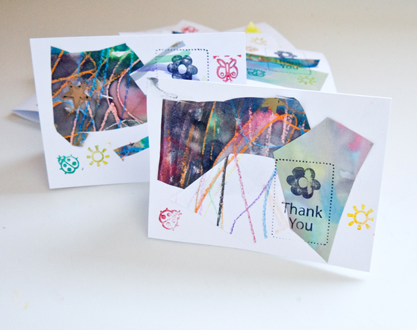 Unique Homemade Thank You Cards 6 Easy To Do Ideas Thatsweetgift
