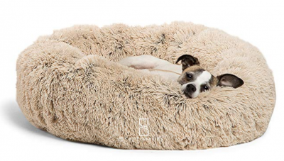 Best Friends by Sheri Luxury Shag Fuax Fur Donut Cuddler (Multiple Sizes)