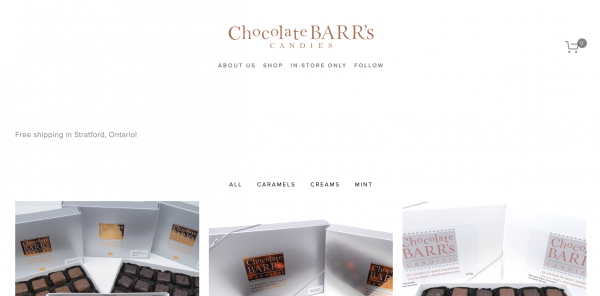 chocolate barrs