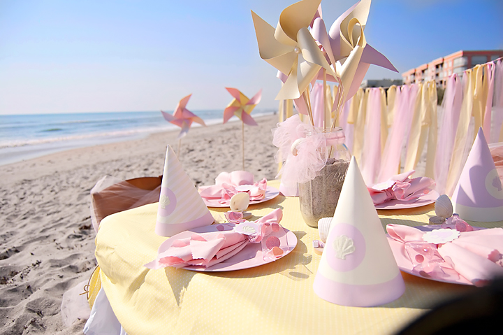 beach birthday party