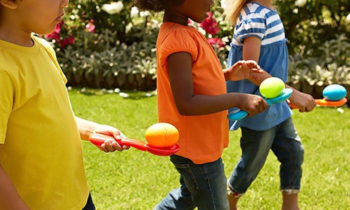 Easter Egg Relay Race