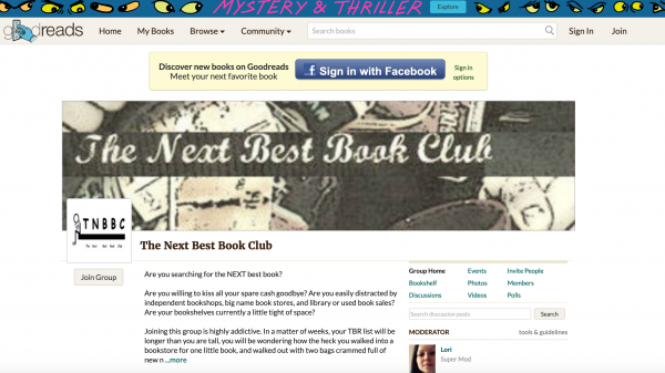 the next best book club