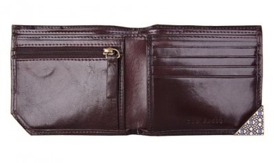 Ted Baker London Edge Paint Bifold Wallet
