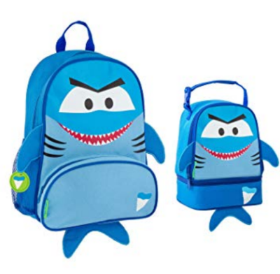 Stephen Joseph Sidekick Shark Backpack
