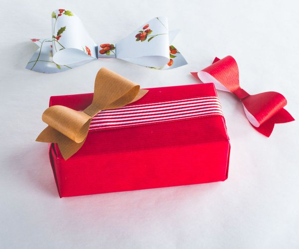 Traditional Ribbon Paper Bow