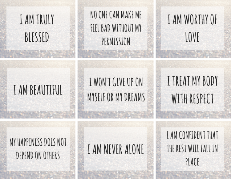 positive affirmations books